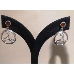 Boucles d'oreilles Triskel...