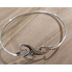 Bracelet Triskel argent...
