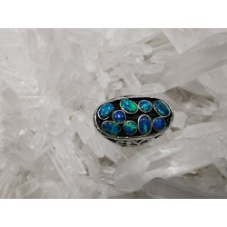 Bague Opale Taille 58 réglable