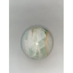 Sphère en Calcite bleue du...